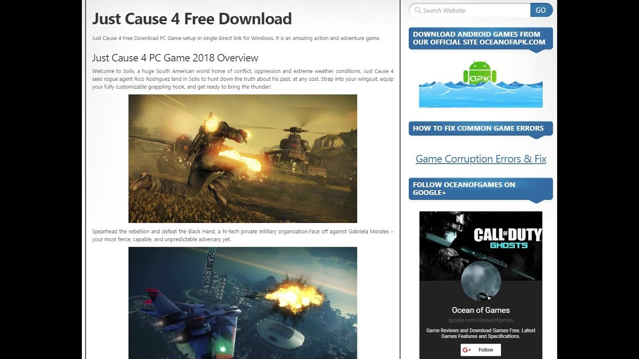 call of duty 4 free download for pc ocean of games