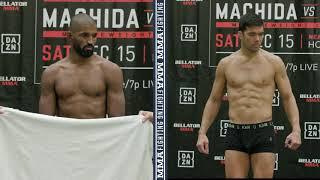 Bellator 213: Rafael Carvalho Misses, Lyoto Machida Makes Weight - MMA Fighting