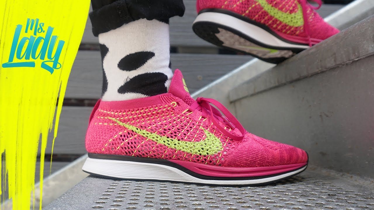 3c4a5a4aeb97 Sneaker Diary 11  Nike Flyknit Racer Fireberry Colorway + Portfolio Site  Redesign