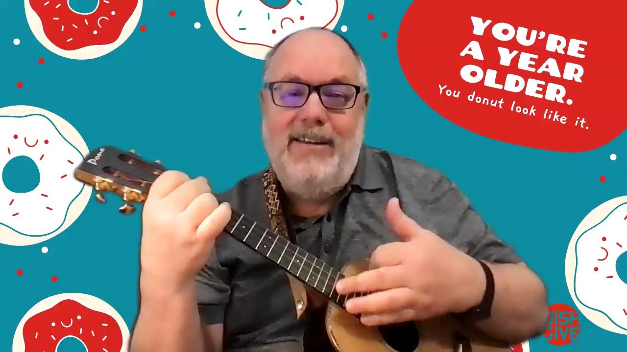 The Sheriff John Birthday Song Birthday Cake Polka For Ukulele Youtube