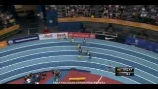 IAAF Indoor Grand Prix birmingham 2015 - Jeremiah Mutai 1.45.93 - Men's 800 Metres