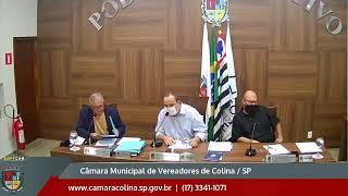 Câmara Municipal de Colina - 12ª Sessão Ordinária 16/08/2021