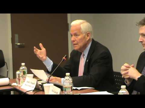 Donald Plusquellic, Mayors for Peace, 140227  PNND Conference in DC