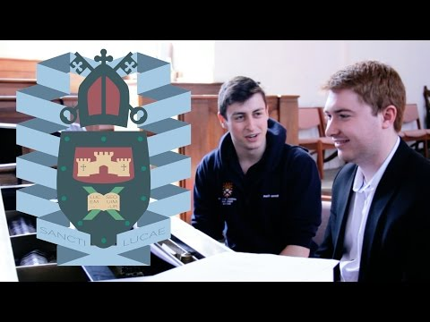 What I sing every week (Exeter University Chapel Choir)