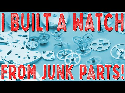 A Rusty Valjoux (ETA) 7750 full restoration and watch build. Ultimate Recycling Challenge.