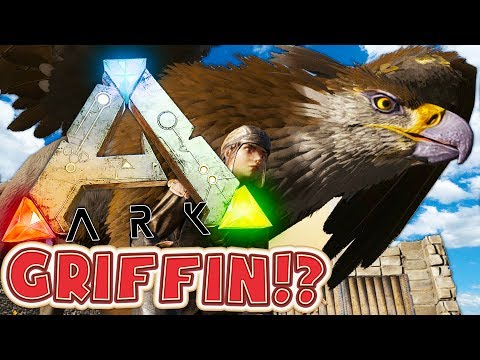 TAMING A GRIFFIN (LEGENDARY MYTHICAL CREATURE) - ARK SURVIVAL EVOLVED MODDED SMP #5