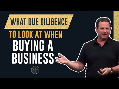 What Due Diligence To Look At When Buying A Business