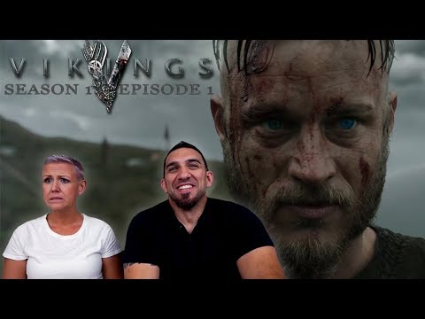 Vikings Season 1 Episode 1 'Rites of Passage' Premier REACTION!!