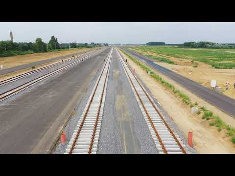 The intermodal gateway between East and West is being built dynamically