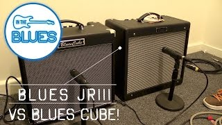 Roland Blue Cube Hot vs Fender Blues Jr III Amplifier