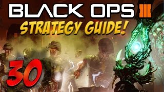 "BLACK OPS 3 ""Shadows Of Evil"" ROUND 30 Flawless Solo STRATEGY GUIDE Full Walkthrough! (BO3 Zombies)"