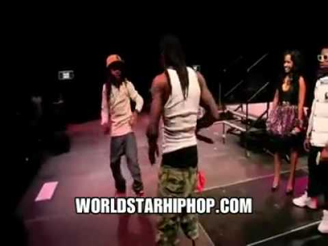 Lil Wayne & Lil Chuckie Dance Off To