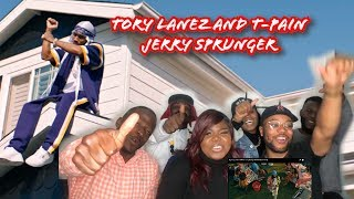 Tory Lanez and T-Pain - Jerry Sprunger REACTION
