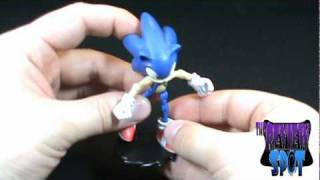 Toy Spot - Sonic the Hedgehog 12 point articulated Sonic the Hedgehog