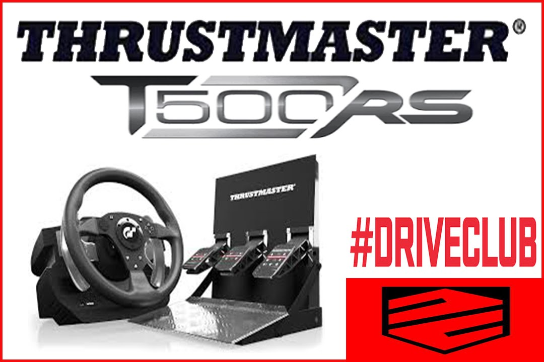 driveclub ps4 thrustmaster t500rs youtube. Black Bedroom Furniture Sets. Home Design Ideas