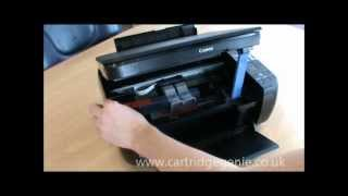 Canon Pixma MP280: How to set up and install ink cartridges(This video demonstrates how to set up a Canon Pixma MP280 printer and install the ink cartridges. http://www.cartridgegenie.co.uk., 2012-03-01T09:33:41.000Z)