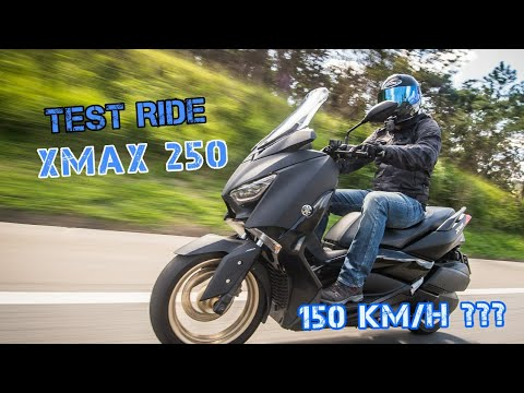 TEST RIDE YAMAHA XMAX 250 - COMPLETO - Durvalcareca
