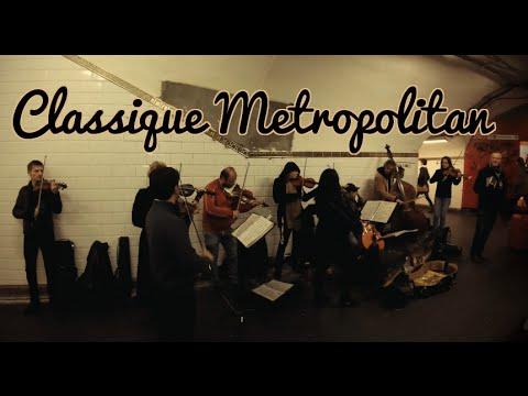 Musical Busking Timelapse in Paris: Classique Metropolitan