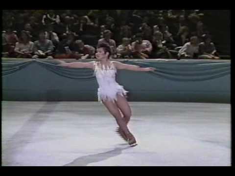 Tiffany Chin (USA) - 1987 World Professionals, Ladies' Technical Program