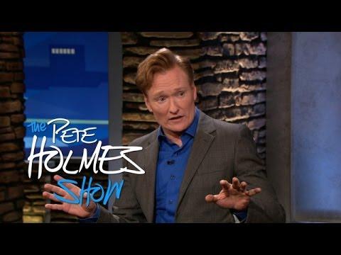 Conan O'Brien Threatens To Fire Pete