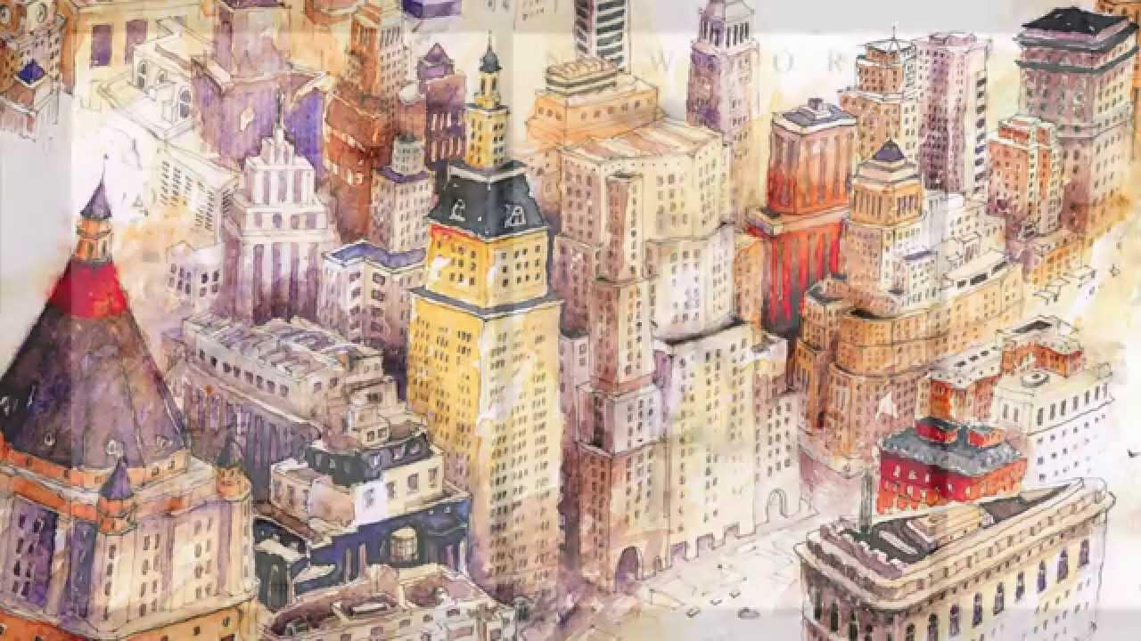 Water Animation Wallpaper Aquarelle Tm Stadtansichten Von Paris Venedig Rom New