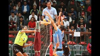 Nepal Police vs Nepal Army - Women's Volleyball