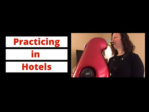 Practicing the Saxophone in Hotels and Apartments