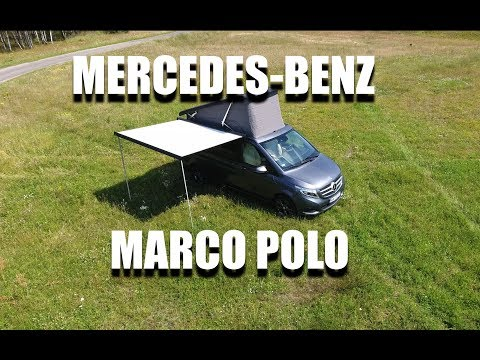 Mercedes-Benz V Class Marco Polo Camper Van (ENG) - Room Tour, Walkaround, Review