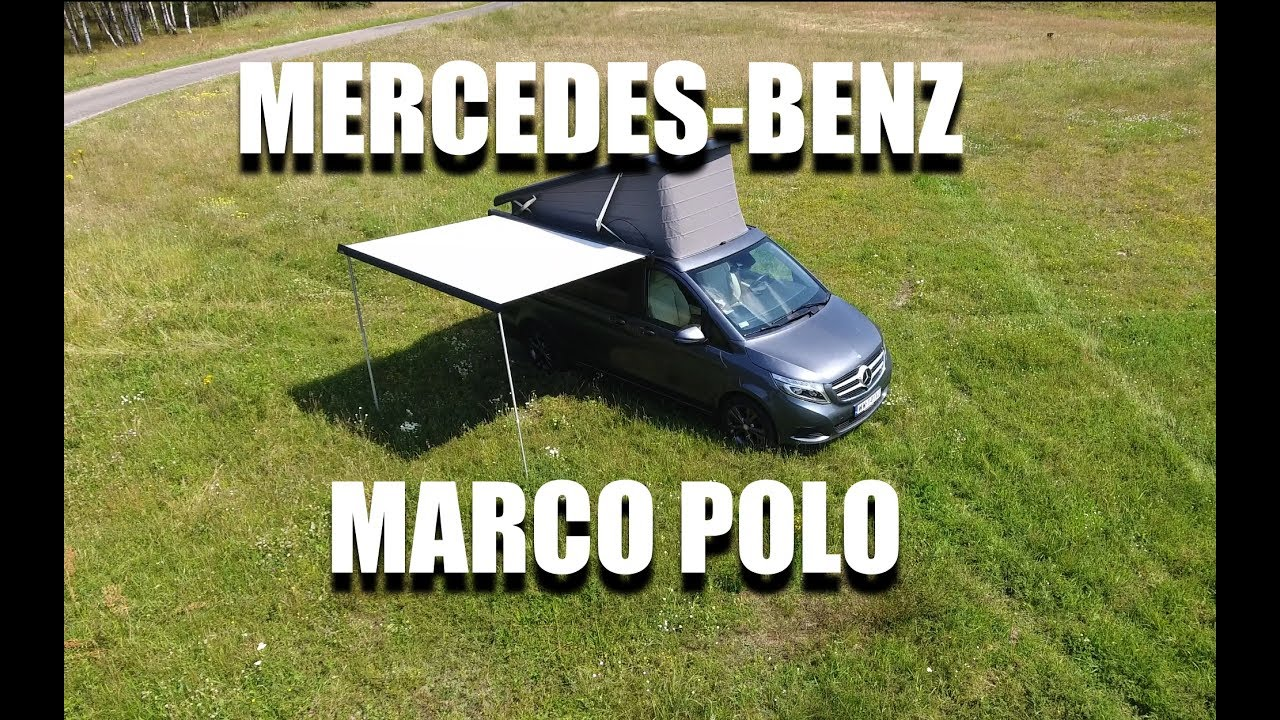Mercedes-Benz V Class Marco Polo Camper Van (ENG) – Room Tour, Walkaround, Review