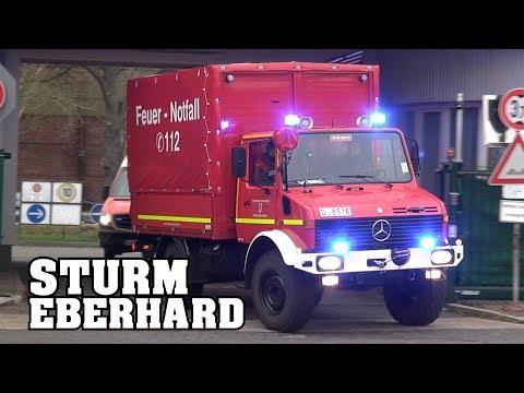[STURM ÜBER DÜSSELDORF] Einsatzfahrten der Feuerwehr (FW10, FF TeKom, FF Unterbach)