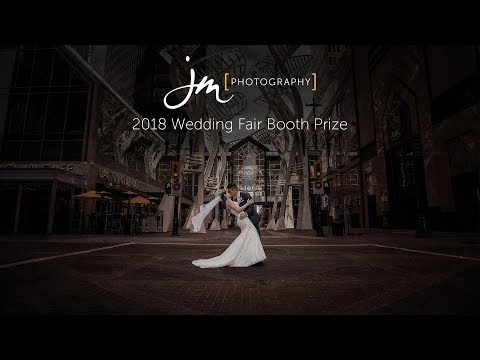 2018 Calgary Wedding Fair JM Photography Booth Prize Draw