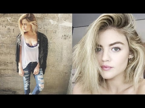 Lucy Hale Talks Selena Gomez Comparisons & Bieber Dating Mixup