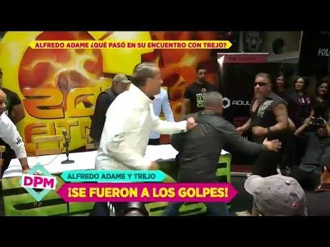 ¡Zafarrancho y golpes entre Alfredo Adame y Carlos Trejo! | De Primera Mano