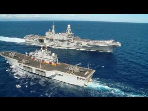 ITS Cavour - Italian Aircraft Carrier