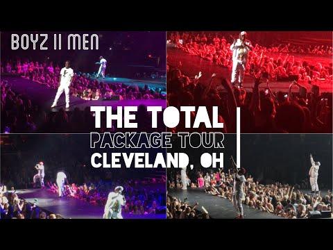 Boyz II Men - The Total Package Tour FULL Concert 2017
