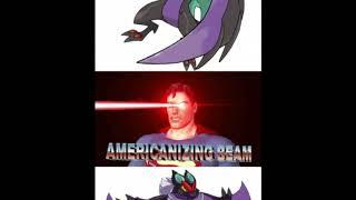 Americanizing Beam and japanizing Beam meme Compilation