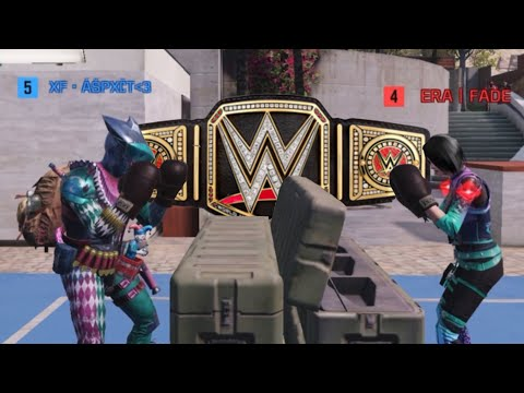 Download i hosted a wwe wrestling match in codm