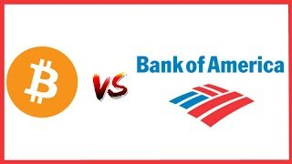 Bank of America is Scared of Crypto!  Says Crypto Threatens it's Business