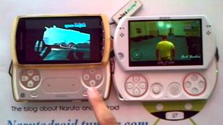 Xperia Play VS PSP GO GTA Vice City