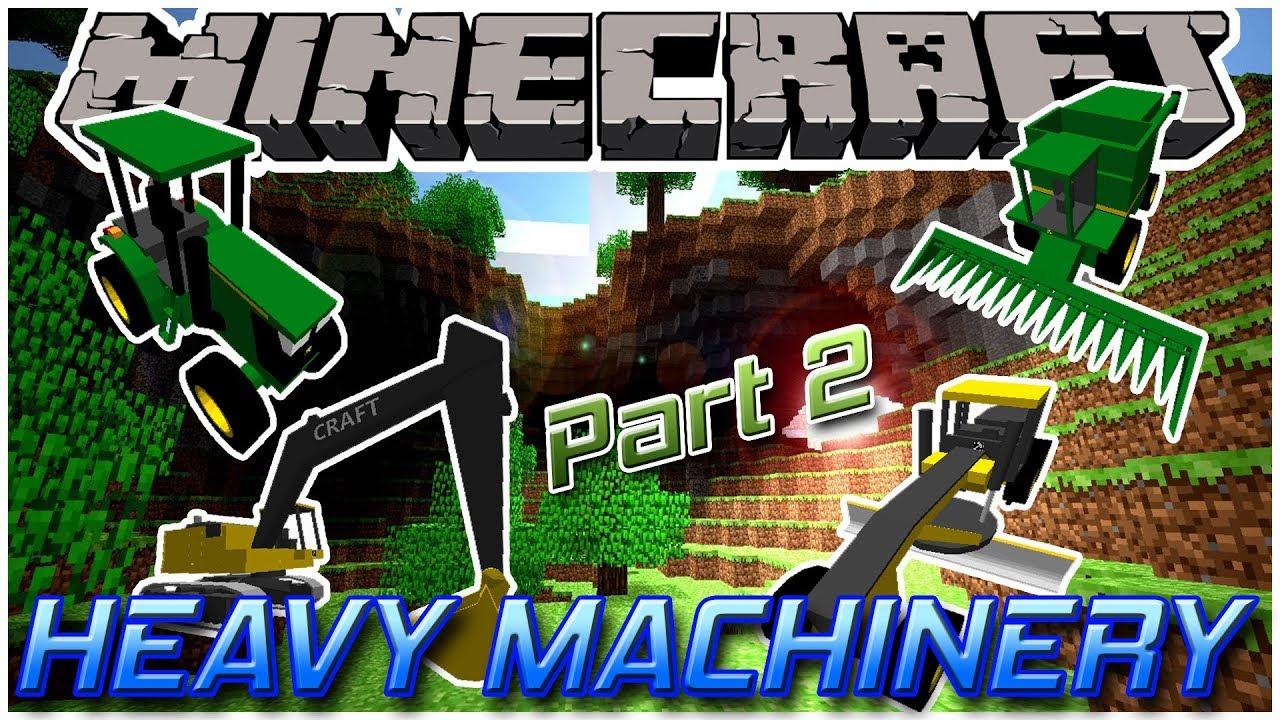 Minecraft Kitchen Mod 1.12.2 Heavy Machinery Part 2 Minecraft 1 12 2 Mod Showcase 24