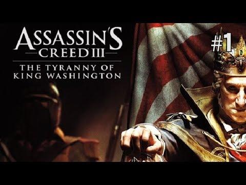 Twitch Livestream | Assassin's Creed III - The Tyranny of King Washington Part 1 [Xbox 360/One]