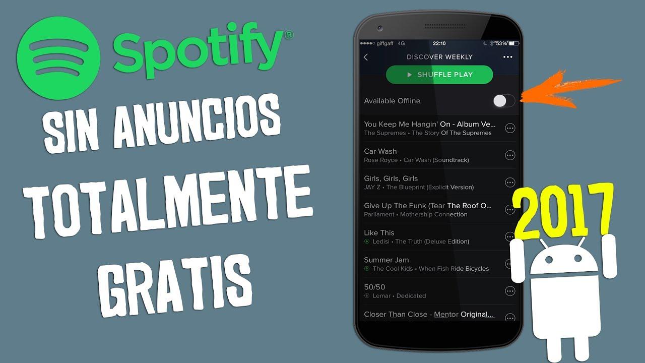 Descarga spotify premium gratis 2017 sin anuncios calidad descarga spotify premium gratis 2017 sin anuncios calidad extrema malvernweather Image collections