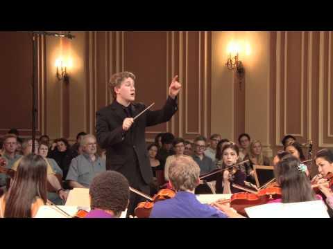 Joshua Weilerstein ('11) conducts NECLO