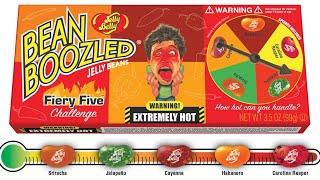 Bean Boozled Fiery Five Challenge - Carolina Reaper, Habanero And Sriracha Jelly Beans