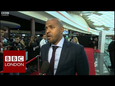 Noel Clarke Interview at Brotherhood Premiere - BBC London News