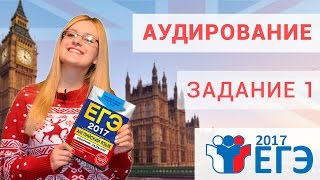 Подготовка к ЕГЭ по английскому языку - Аудирование задание 1 - урок №4