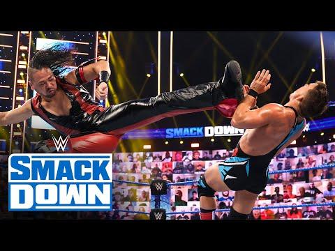 Shinsuke Nakamura vs. Chad Gable: SmackDown, May 28, 2021