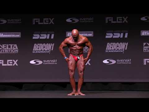 2019 Swedish Championships - Bodybuilding Veteran Over 50 Years Free Posing