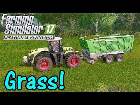 Let's Play FS17, Stappenbach #8: Grass!