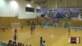 2019年IH ハンドボール 女子 1回戦 富岡(群馬) VS 倉敷天城(岡山)